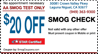 Discount smog center coupons la mesa ca